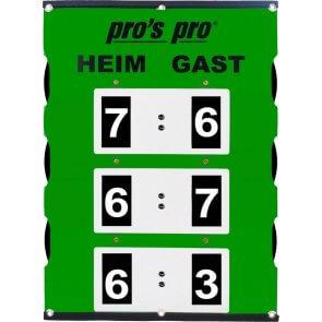 Spielstandanzeiger XL 82 x 58 cm° grün