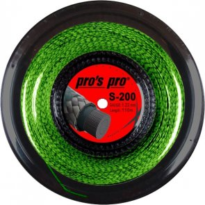 pros pro Squashsaite S-200 110 m neon-grün