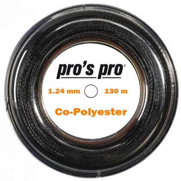 Co-Polyester-Saite 130 m schwarz, 1.24
