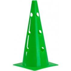 """Pros Pro Markierungskegel 15"""" gelocht,grün"""