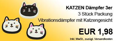 Vibra Stop Katze 3er Packung