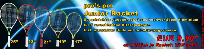 Junior Rackets