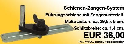 Schienen-Zangen-System