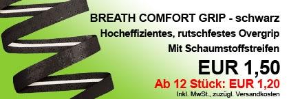 Breath Comfort Grip schwarz