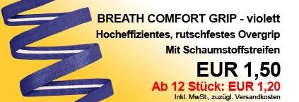 Breath Comfort Grip Violett
