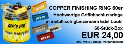Copper Finishing Ring 60er